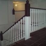 schody drewniane dębowe balustrada (myslenice)