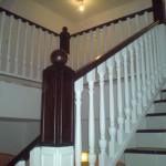 balustrada drewniana dębowa na schody
