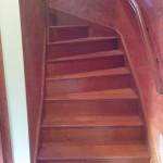 schody drewniane zabiegowe (kraków)