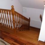 schody drewniane debowe balustrada