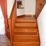 schody drewniane dębowe na beton kraków