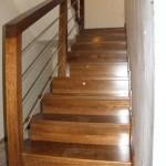 schody drewniane na beton