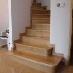 schody drewniane na beton kraków