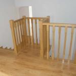 schody drewniane kraków balustrada drewno