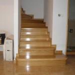 schody drewniane na betonie kraków