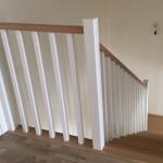 balustrada dąb bielony