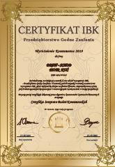 Zobacz certyfikat firmy Drew-Schod